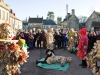 The Marshfield Mummers Play on Boxing Day in the Cotswold town of Marshfield, South Gloucestershire