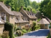 Cottages in the Cotswold village of Snowshill, Gloucestershire