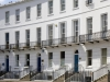 Regency architecture in Royal Crescent, Cheltenham, Gloucestershire