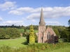 St Mary the Virgin Church at Flaxley, in the Forest of Dean near Cinderford, Gloucestershire