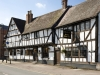 Ye Olde Black Bear public house in Tewkesbury, Gloucestershire which dates from 1308 and claims to be Gloucestershire's oldest inn.