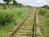The Lilongwe to Mchinji railway line near Makosana, Malawi, Africa