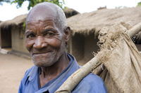 An old man at Makosana