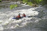 River Wye rapids at Symonds Yat
